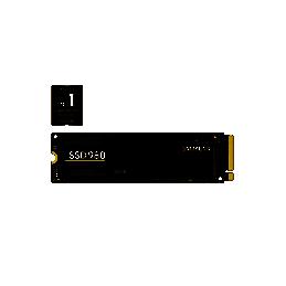 500GB SSD Samsung 980 PCIe...